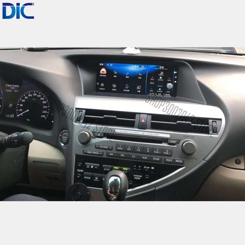 DLC Android system Navigation GPS player Video autoradio Lenkung-Rad radio auto styling Für Lexus 2009-2014 RX 270 350
