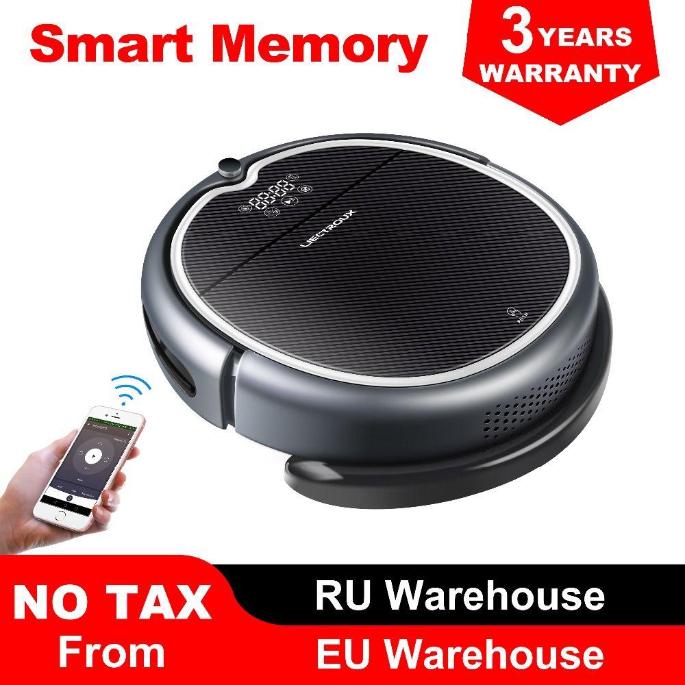 (Neue Ankunft) LIECTROUX Roboter Staubsauger Q8000, WiFi App, Karte Navigation, Saug 3000 Pa, speicher, Nass Trocken Mopp, Beste Aspirador