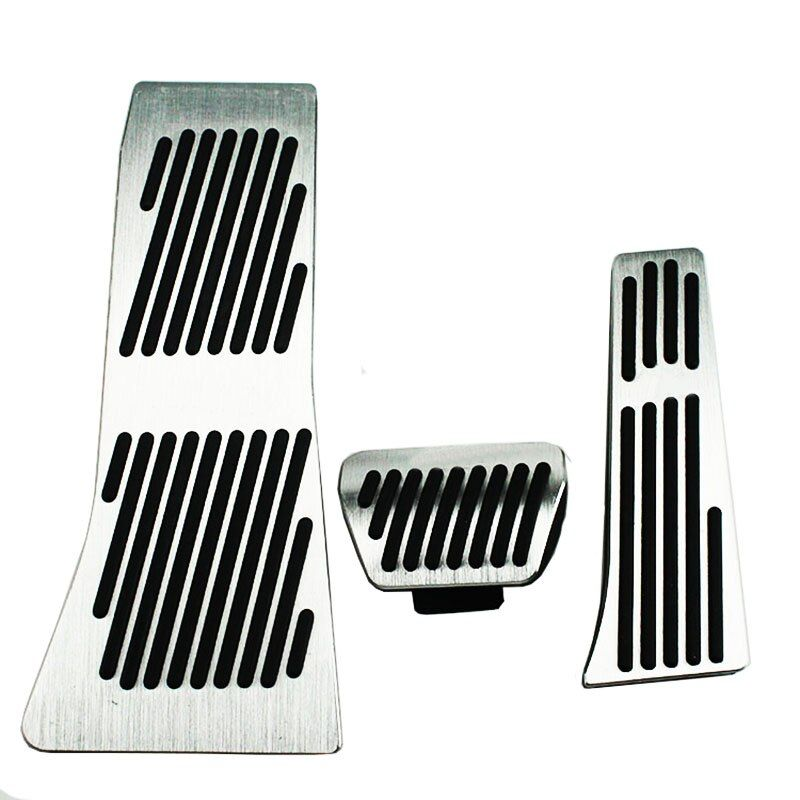 For BMW X5 X6 Series E70 E71 E72 F15 AT Accelerator Brake Foot Rest Pedal Pads,Car Accessories Styling Gas Refit Sticker styling