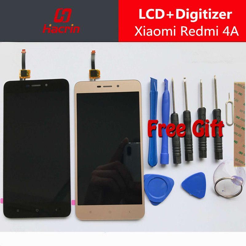 Pour Xiaomi Redmi 4A LCD display + Écran Tactile Digitizer bon Remplacement pour Xiaomi Redmi 4A Pro 5.0 pouce Mondiale Version