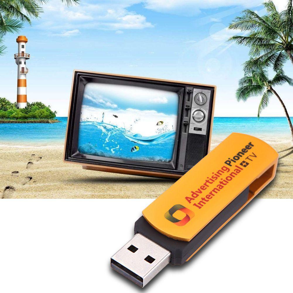 1 GB TV Stick Goldene USB Weltweit Internet TV Radio-Player Multimedia Synchron 1 GHz 1280x1024 Dongle Multifunktionale