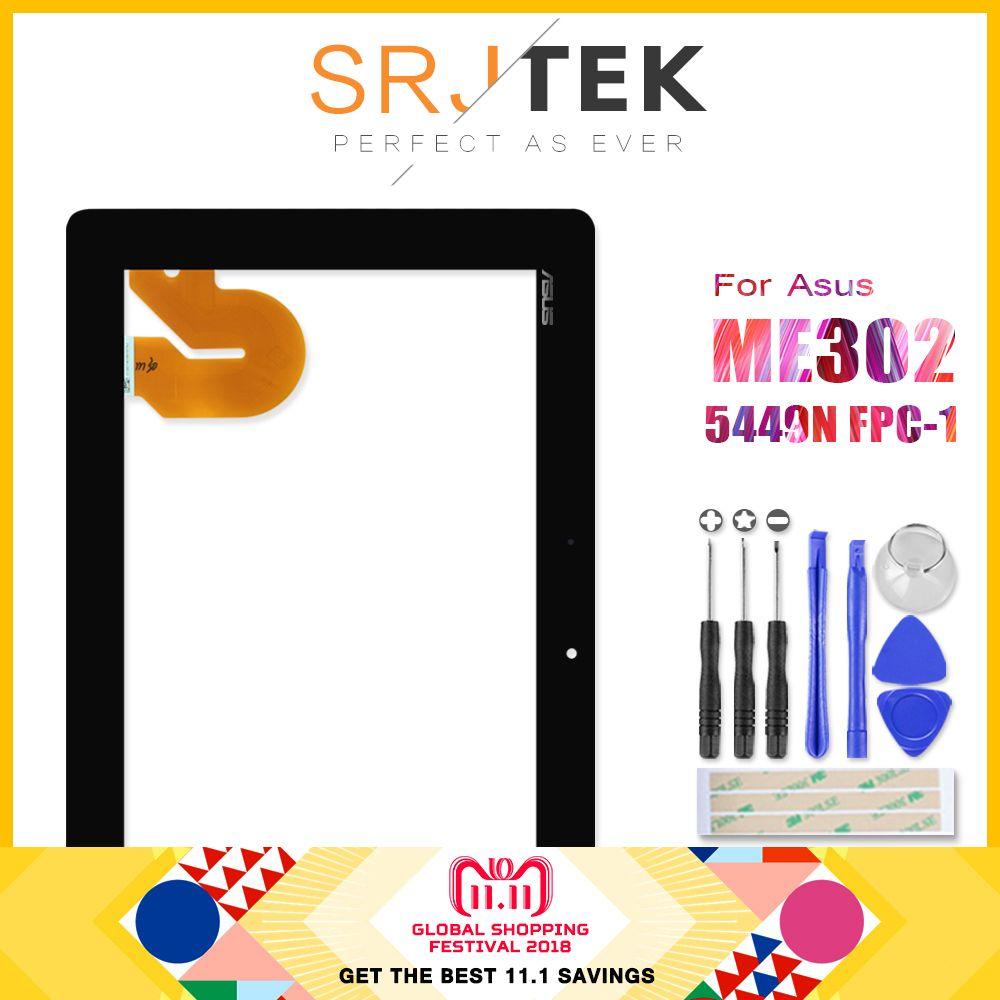 Original For ASUS MeMO Pad FHD 10 ME301 ME302 ME302C ME302KL K005 K00A Tablet PC Touch Screen Digitizer Glass 5449N FPC-1 Parts