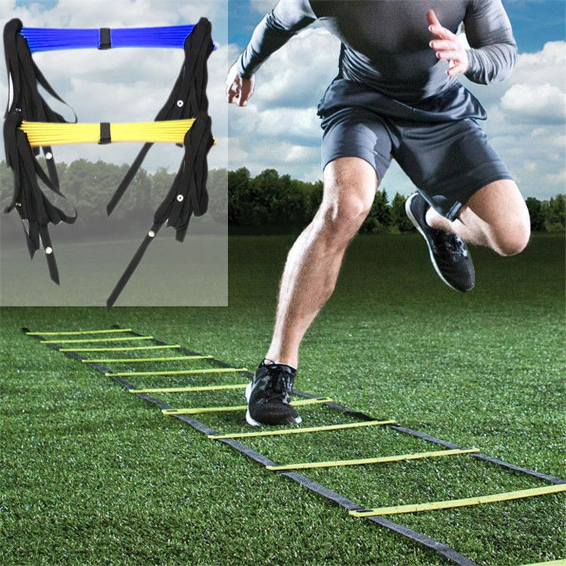 3.5M 5M 5.5M 7M 7-13 Pieces Football Training Agility Ladder Sport Soccer Training Exercise Equipment