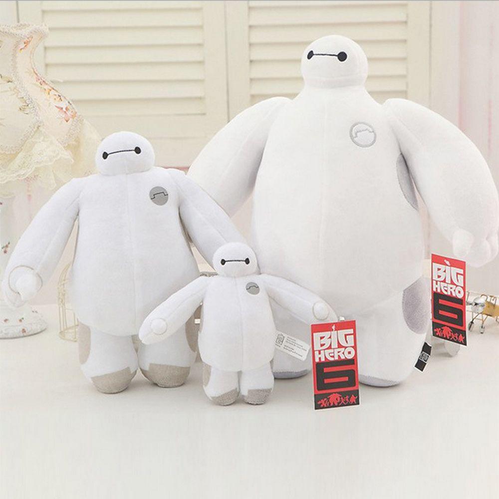 Grand héros 6 Baymax peluche peluche peluche douce poupée ROBOT noël bonhomme de neige animaux en peluche peluche bébé jouet