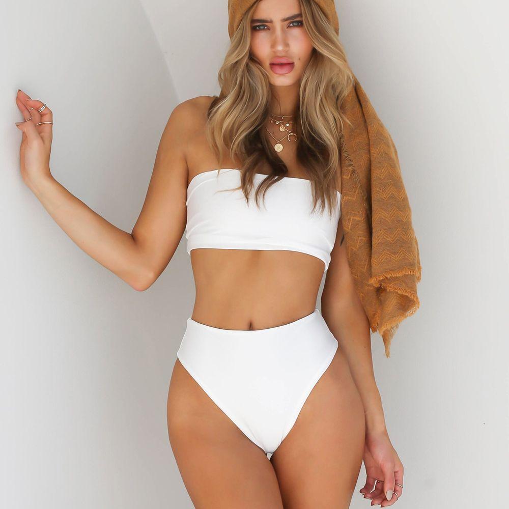 Playful sexy Swimwear Women Swimsuit Push Up solid Bikini Set Summer Beachwear Bathing Suit