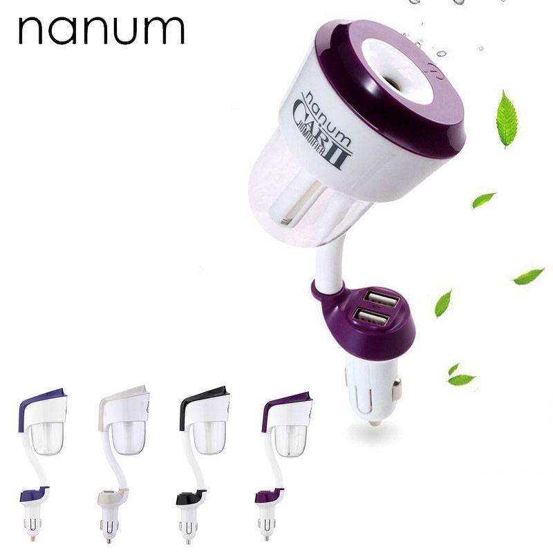 Nanum II chargeur de voiture voiture assainisseur d'air humidificateurs ii 12V haute qualité nébuliseur humidificateur muet maison stérilisation de l'air