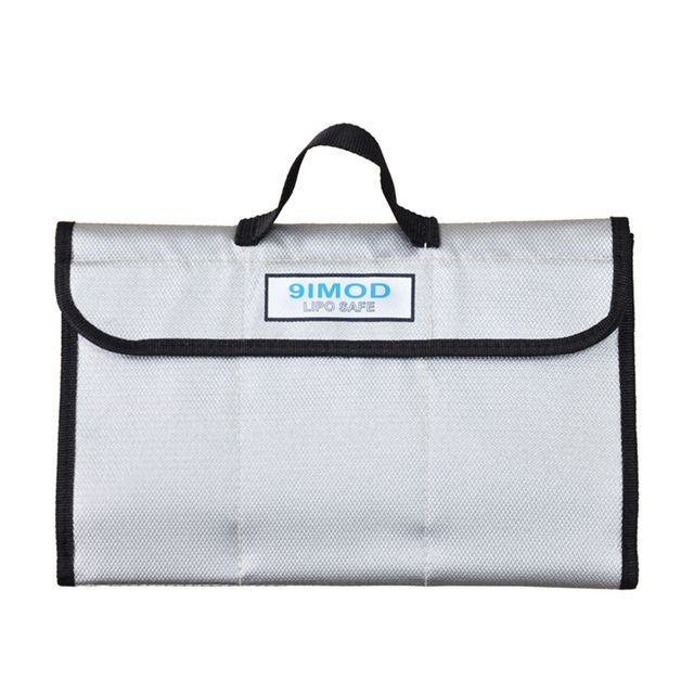 305*200mm Fireproof storage bag explosionproof safe Protector Box Heat Resistance Radiation protection Pocket for Lipo battery