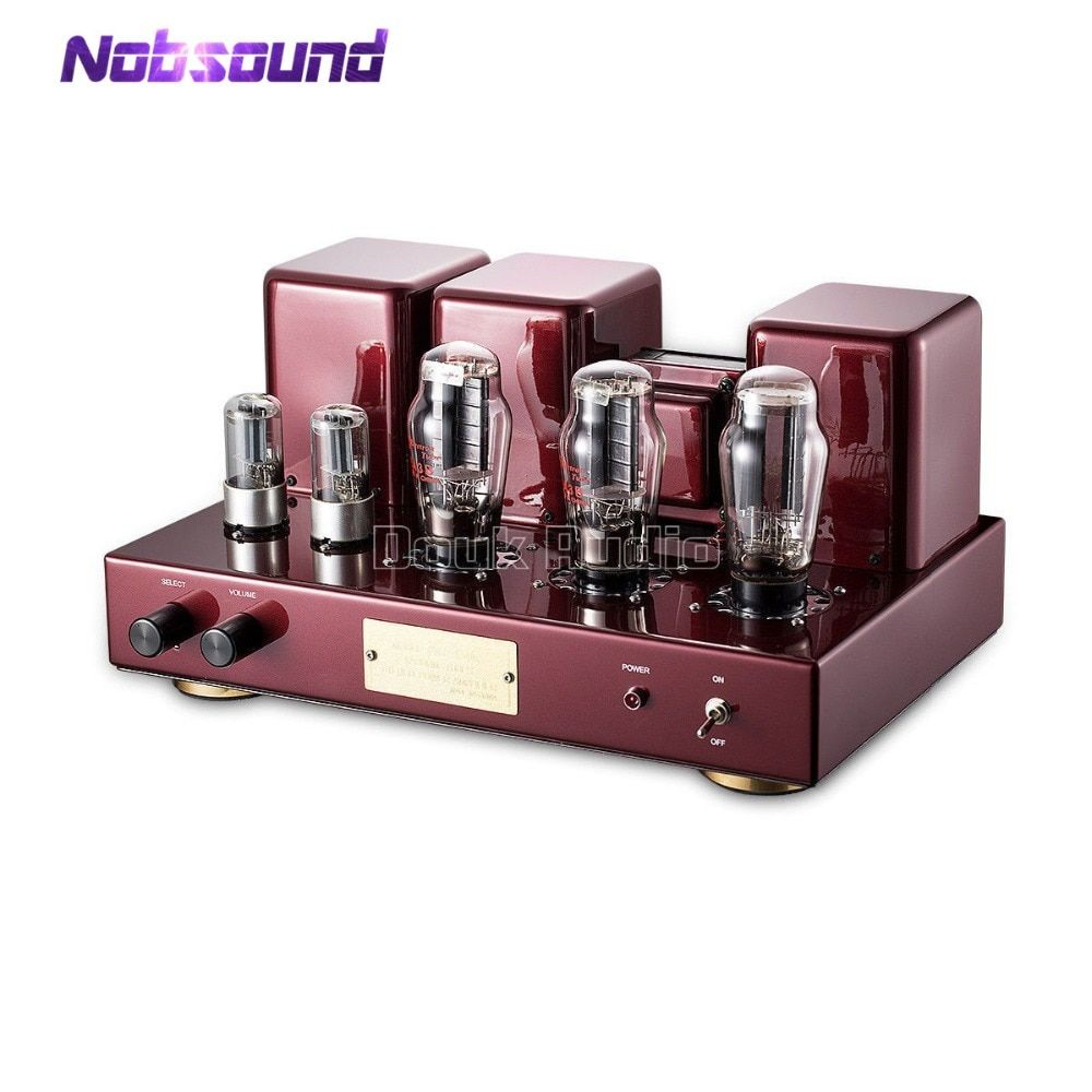 Nobsound Hi-end 2A3 Stereo Vacuum Tube Integrated Amplifier Hi-Fi Single-Ended Class A Power Amplifier Black & Red