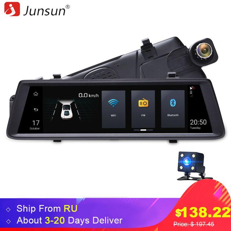 Junsun Видеорегистраторы для автомобилей Камера зеркало 3G 10
