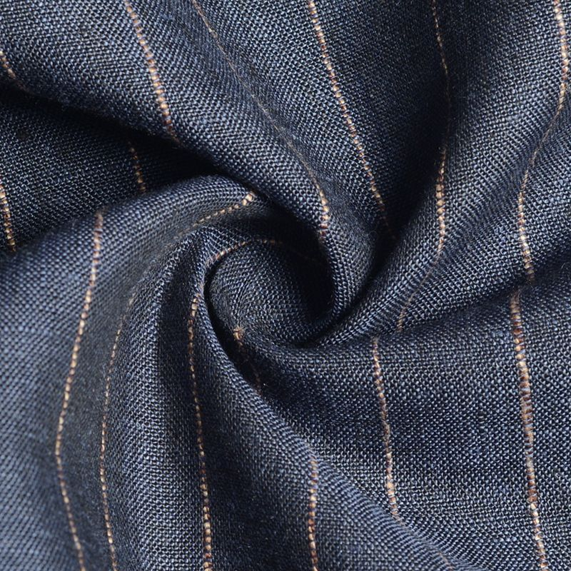 2meters Cotton linen fabric, striped cloth,For linen cloth, spring and summer shirts, sofas, fashion, linen cloth