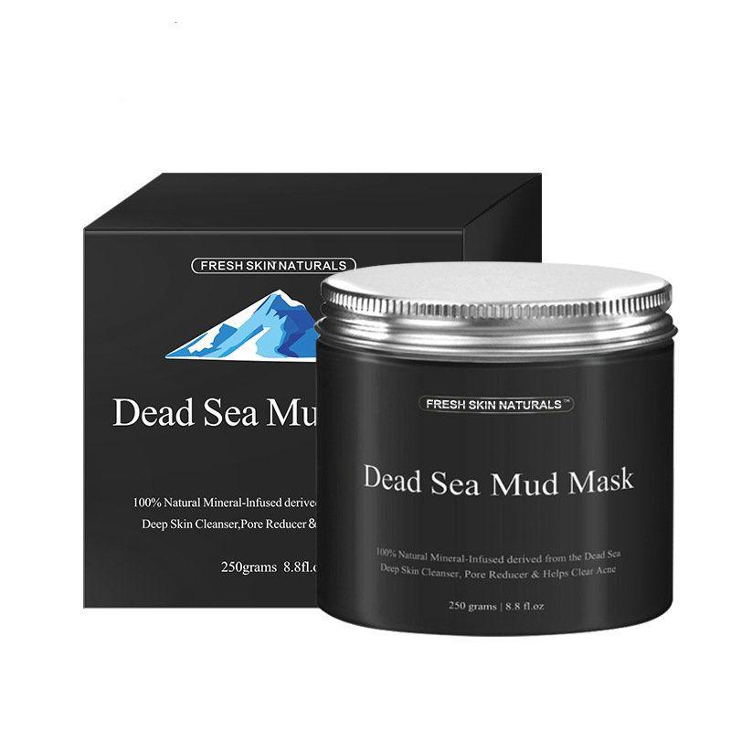 Masque de boue de mer profonde pour le visage et le corps hydratant acné peau grasse points noirs pores minimizer nettoyant nourrissant pour le visage