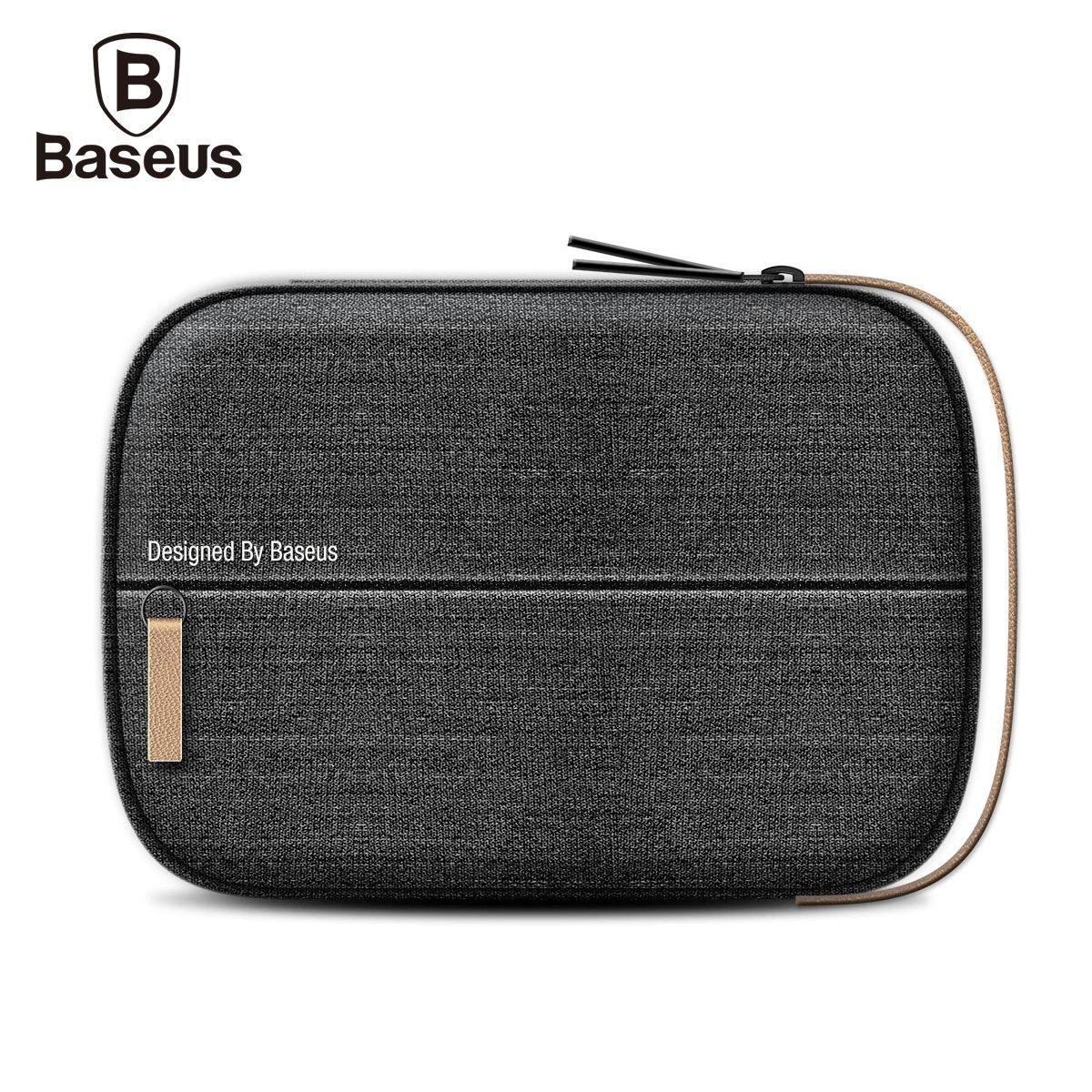 Baseus Téléphone Poche Pour iPhone Samsung Xiaomi Mobile Téléphone Sac Étanche Tissu Simple Paquet De Stockage Téléphone Accessoires 9.6 Pouce