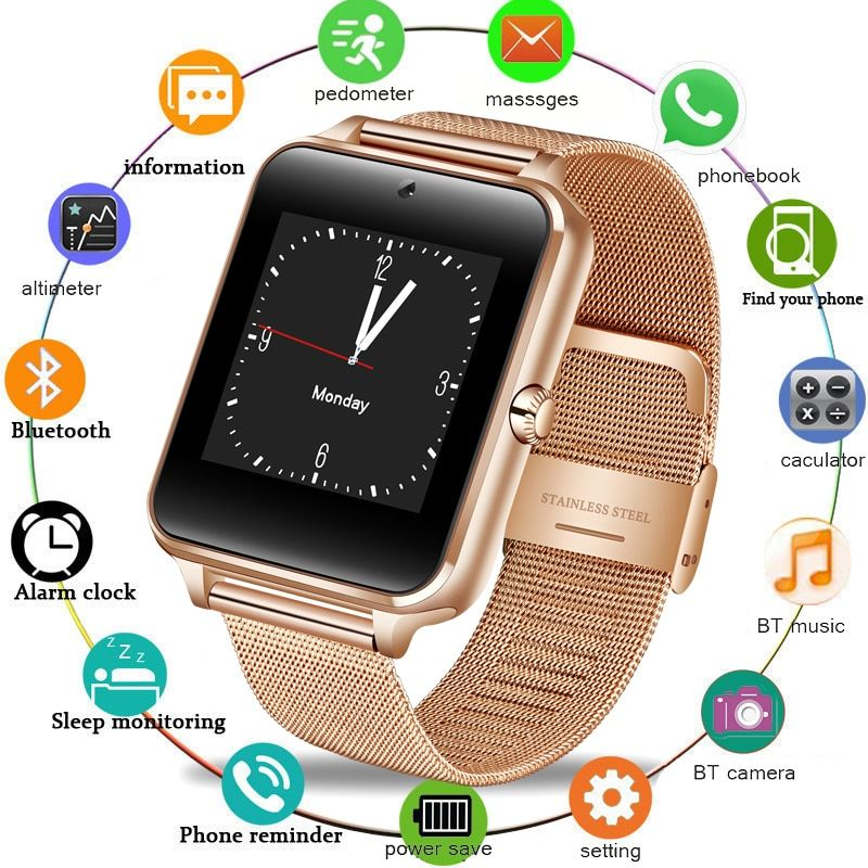 Montre Smart Watch GT08 Horloge Sync Notifiant Soutien Sim Carte Bluetooth Connectivité pour IOS Android Femmes Smartwatch Hommes Montre Z60 2019