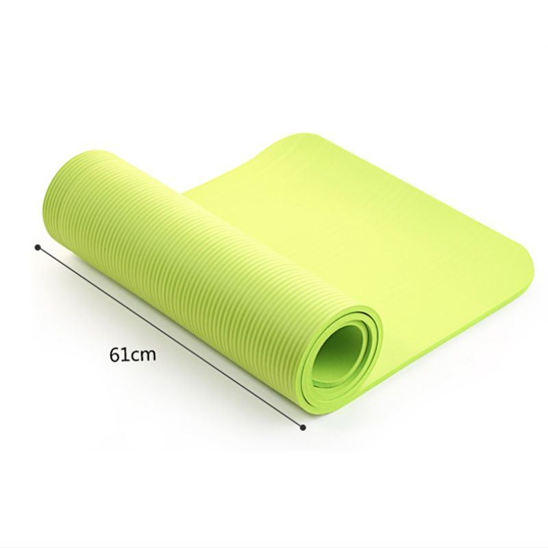 Yoga Matte Übung Pad Dicke, Nicht-slip Folding Gym Fitness Matte Pilates Lieferungen Non-skid Boden Spielen Matte 4 farben 9282