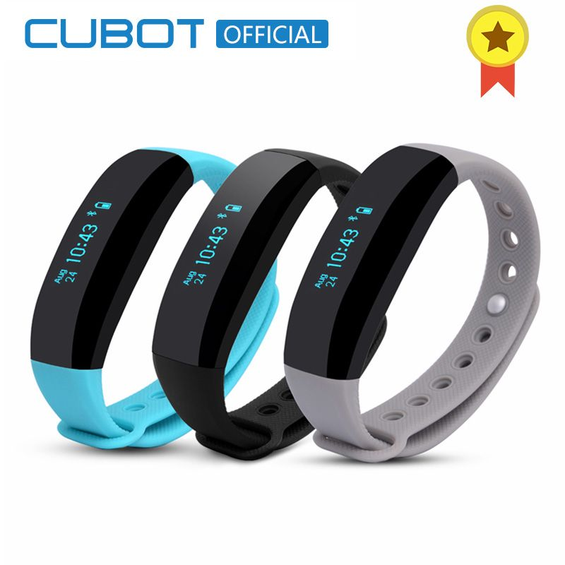 Cubot V2 Wristband Intelligent Reminder Waterproof Anti-lost Alarm Sports Record Smart Band for Android Phone