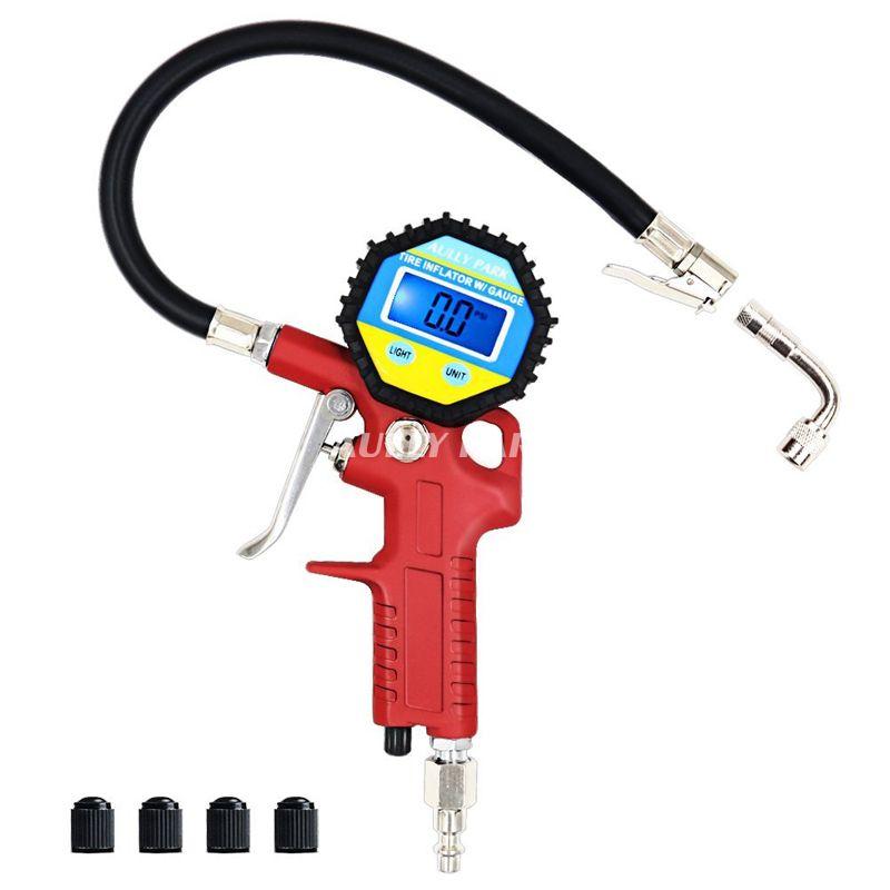 High Precision Digital Tire Pressure Gauge For Car Motorcycle SUV Inflated Pumps Deflated Tire Repair Tools Pressure Gun