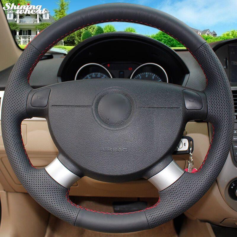Brillant blé Couverture De Volant de Voiture pour Chevrolet Aveo Lova Buick Excelle Daewoo Gentra 2013-2015 Chevrolet Lacetti 2006-2012