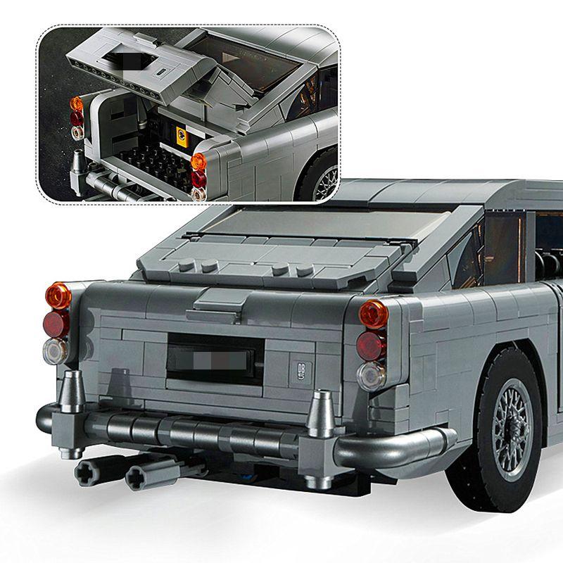 Technic Series  Aston Martin DB5 Set Building Blocks Bricks Children Car Model Gifts Toys Compatible with