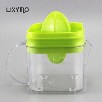 LIXYMO 20oz(567g) manual juicer fruit squeezers reamers juice extractor double sizes design fit to different fruits