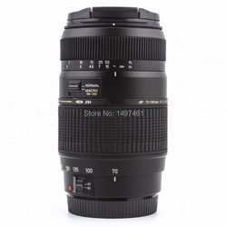 AF 70-300mm F4-5.6 di LD macro teleobjetivo para Nikon D3300 D5200 D5300 D5500 D90 D60 D40X d3200 D3400 SLR (para Tamron A17)