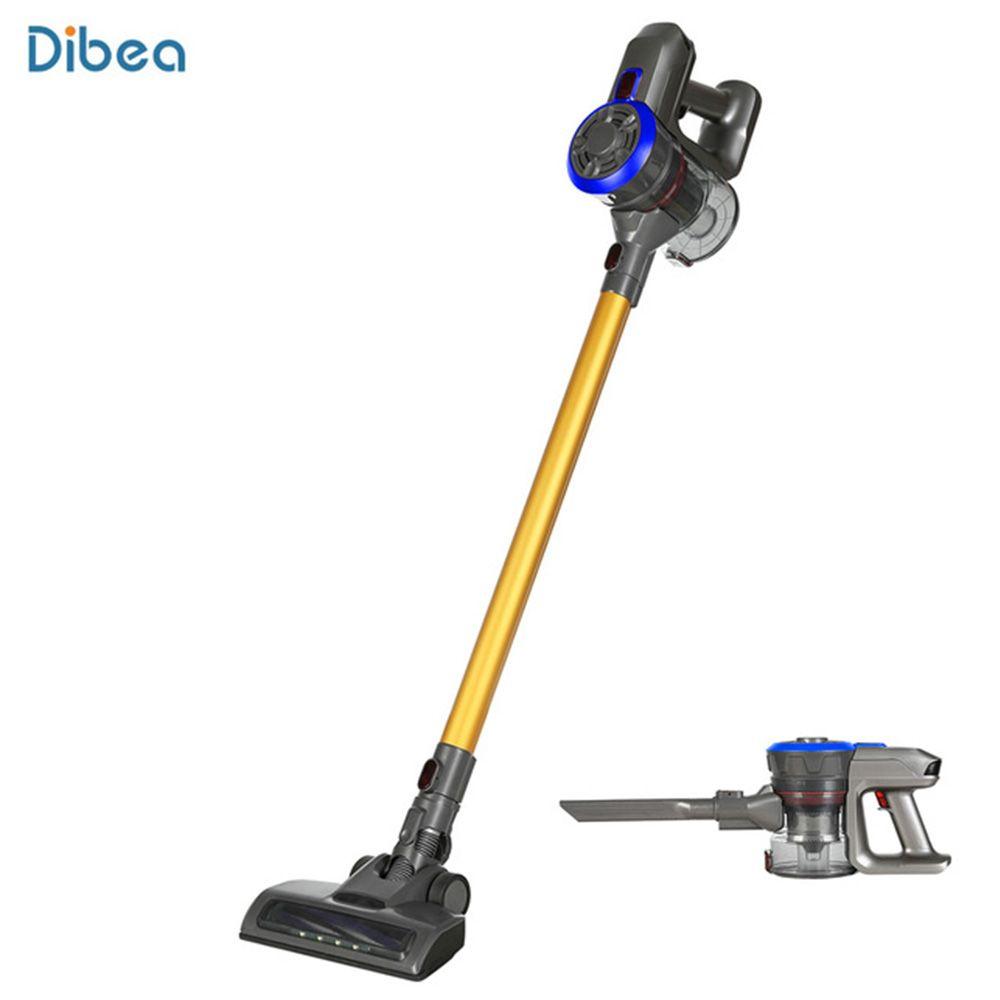 Dibea D18 2-In-1 Leistungsstarke Wireless Staubsauger Handheld-Stick Staubsauger 9000 Pa Starken Sog Staub collector Sauger