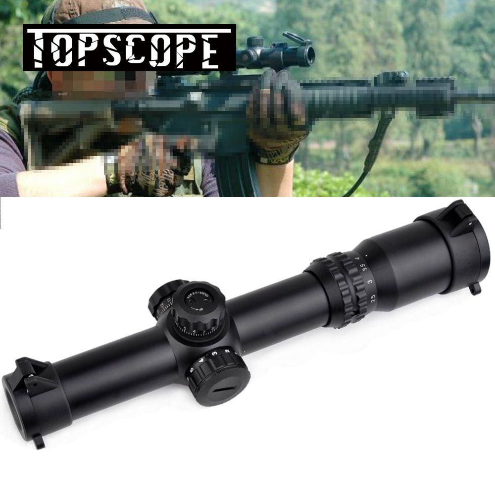 Neue Ankunft ZIEL 1-4x24 SE Optik Lang Augen Relief Beleuchtung Taktische Zielfernrohr Rot Grün Absehen für Die Jagd Schießen