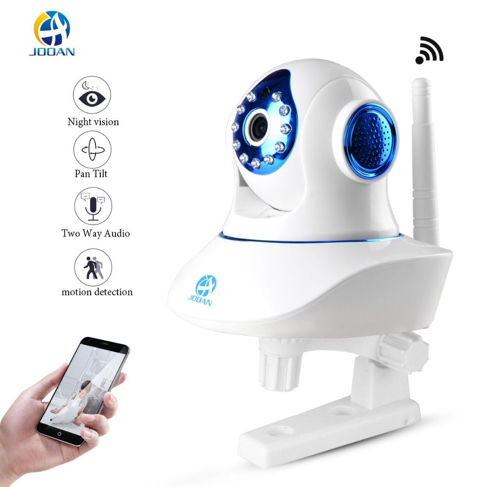 JOOAN Wireless IP Camera 720P HD WiFi Networ Security Night Vision Audio <font><b>Video</b></font> Surveillance CCTV Camera Smart Home Baby Monitor