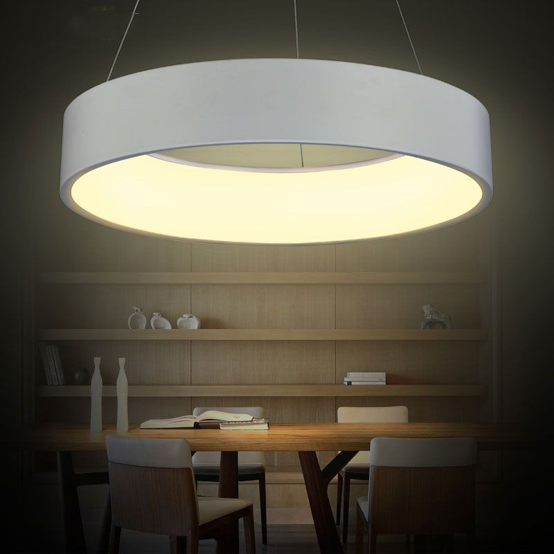 Modern creative hollow round led pendant lamps household dining room pendant light,hanging lamp