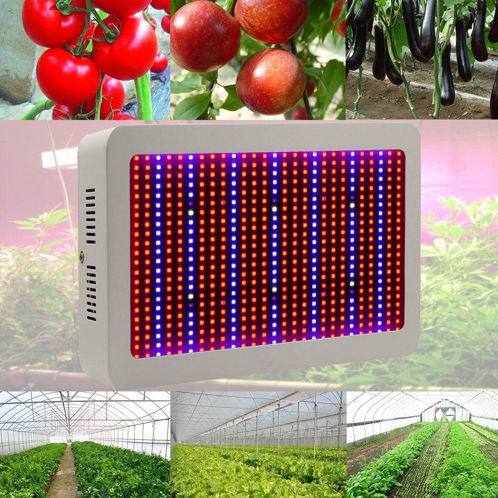 400 Вт 600 Вт 800 Вт Светодиодные лампы для роста растений полный спектр комнатное растение лампа для растений vegs гидропоники Системы расти/bloom ц...