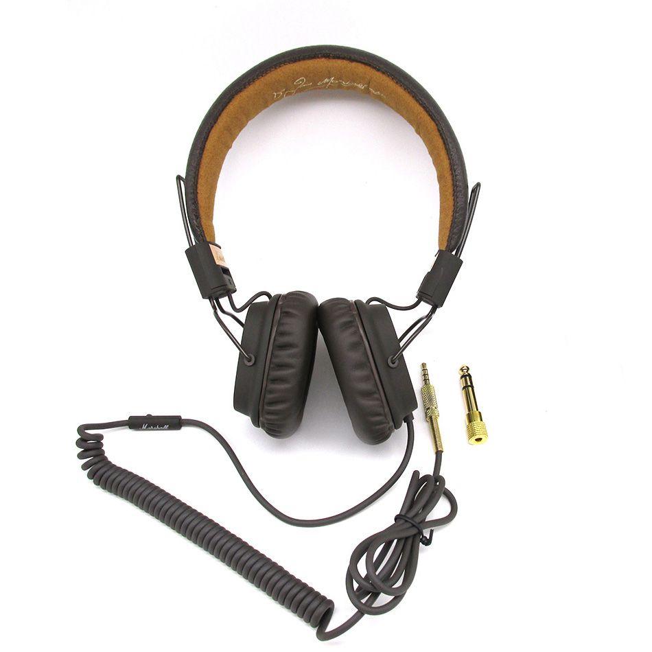 High quality HIFI Music Stereo Headphones Earphone Foldable <font><b>Handsfree</b></font> Major Headset with Mic for iphone Samsung marshall major