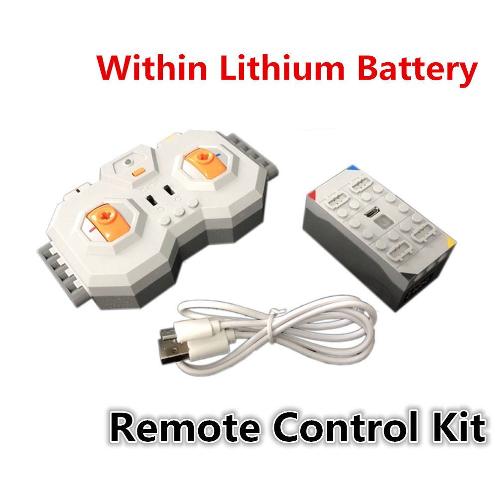 Professional Within Lithium Battery 4 Channel 2.4G Remote Control RC USB Charge 8878 Building Blocks Technic Compatible Brands
