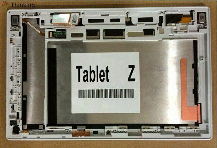 Neothinking 10.1 Asamblea con Marcos para Sony Xperia Tablets Z sgp311 sgp312 sgp321 LCD digitalizador pantalla táctil de reemplazo