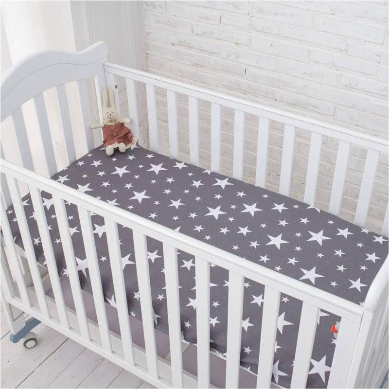 Inflexible hormiga ropa de cama hoja de cama de Bebé 100% algodón recién nacido bebé de la historieta de protección del medio ambiente reactiva impresión 148X91 cm