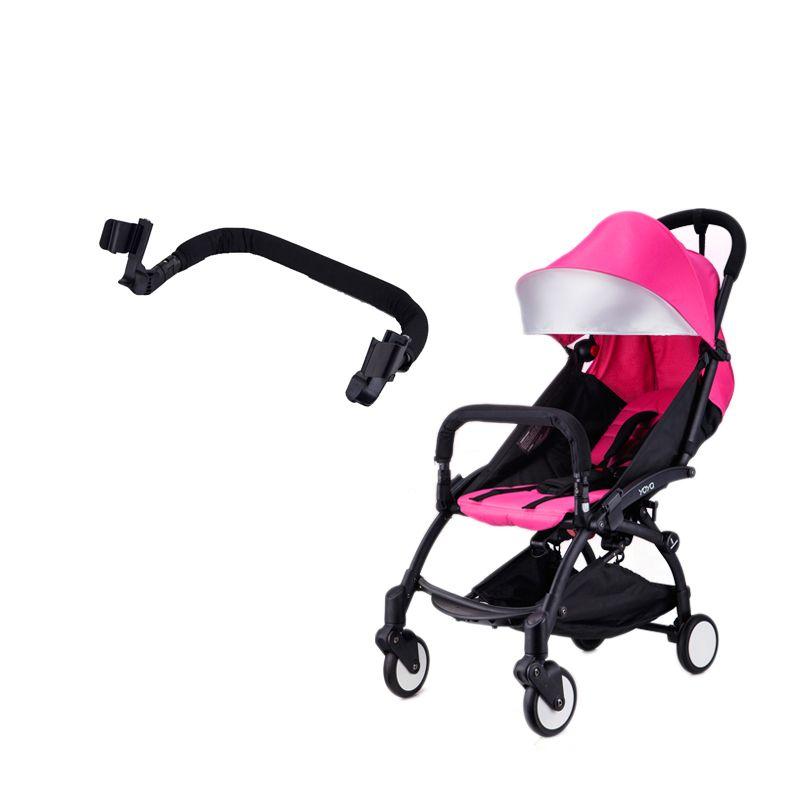 Детские коляски подлокотник для yoya с адаптером совместных бампер бар для малыша вагонов YoYo Черный