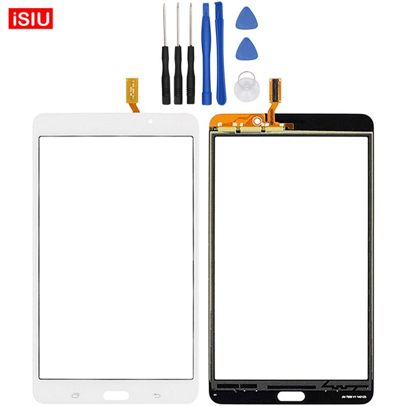 New 7.0 inch For Samsung Galaxy Tab 4 SM-T231 / T231 / T233 / T235 Tab4 LCD Touch Screen Lens Glass Outer Front Panel + Tools