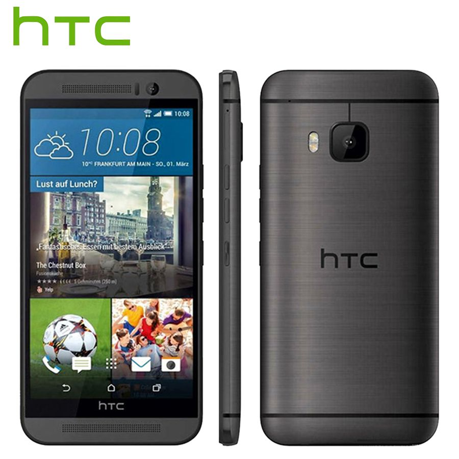 Original HTC One M9 4G LTE Mobile Phone 5.0 inch 3GB RAM 32GB ROM Octa Core 1920x1080 20.0MP 2840mAh Android Smart Phone