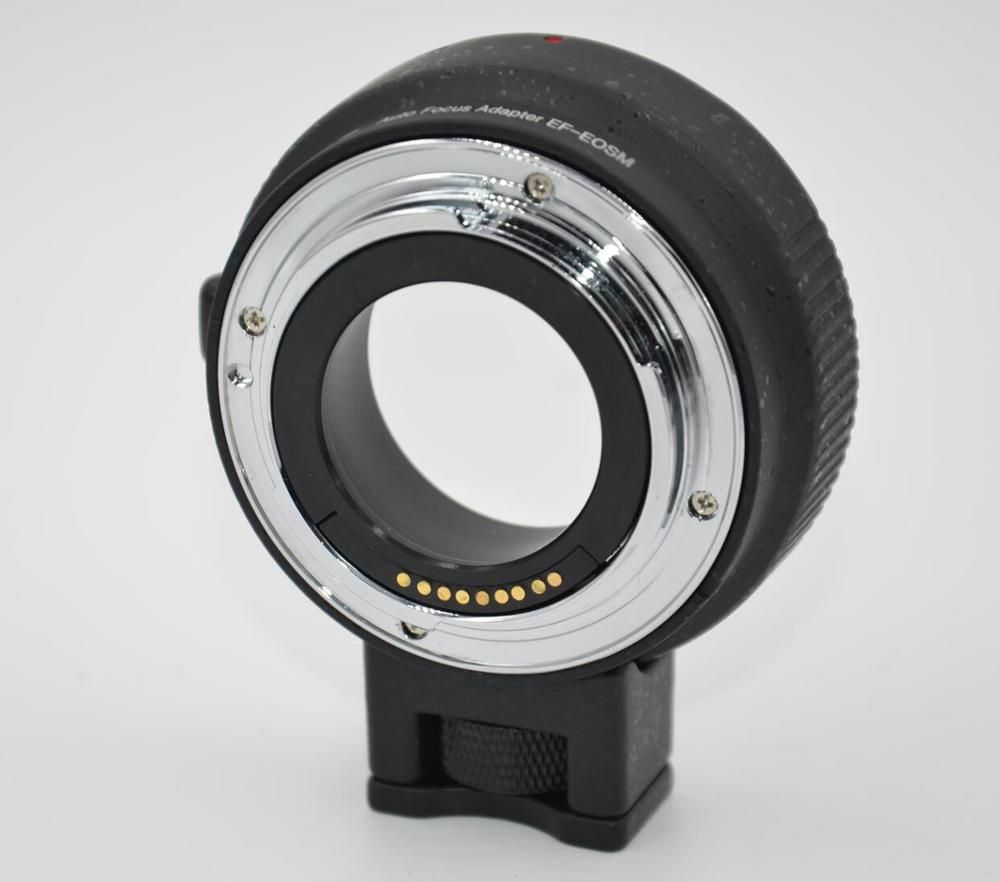 EF-EOSM Lens Mount Adapter Ring Auto-Exposure Auto-Focus and Auto-Aperture for Canon EF/EF-S Series Lens to EOS Camera