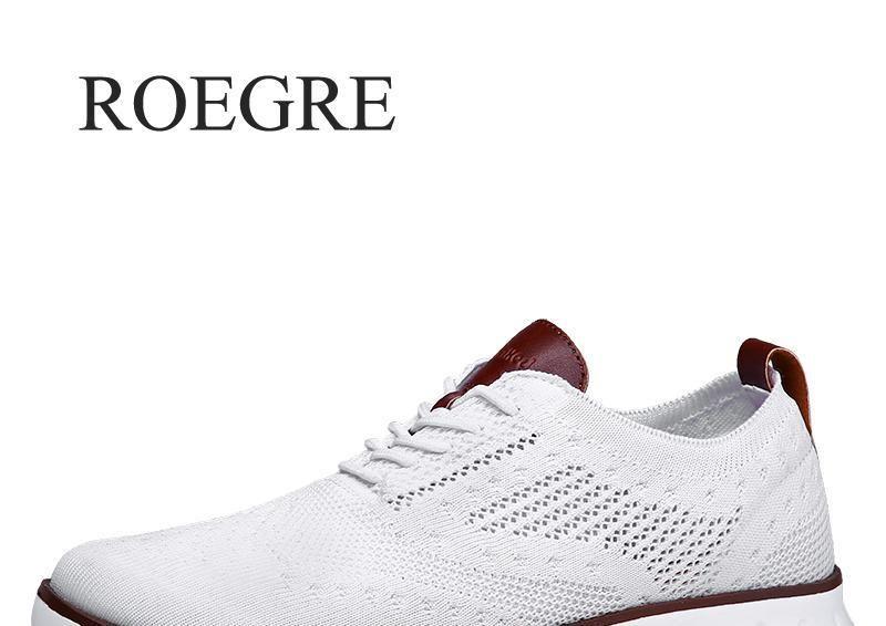 Décontracté tricoté maille chaussures pour hommes solide peu profonde à lacets léger doux hommes baskets chaussures respirant homme chaussures appartements 39-48
