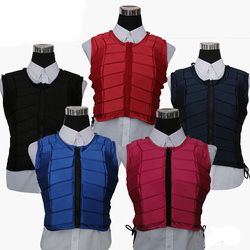 New Horse Riding Vest Breathable Shock Absorption Safe Equestrian Protective Vest Horse Equipment Training Armor Sportswear