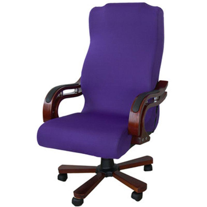 3 taille Élastique Ordinateur Chaise Couverture Spandex Couverture De Chaise de Bureau Chaise Lavable Amovible Rotatif Housse De Chaise