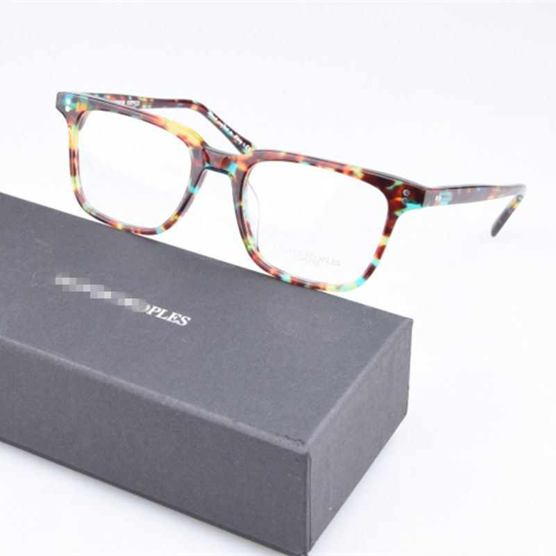 High quality NDG glasses frame men Retro eyeglasses With Original case Oliver Peoples myopia reading eyewear Oculos