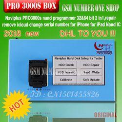 Navi plus PRO3000S 32 64 nand programador, reparación HDD Número de serie SN, para el iPhone 6 P 6 iPad mini naviplus para ios 11 ios11 DE