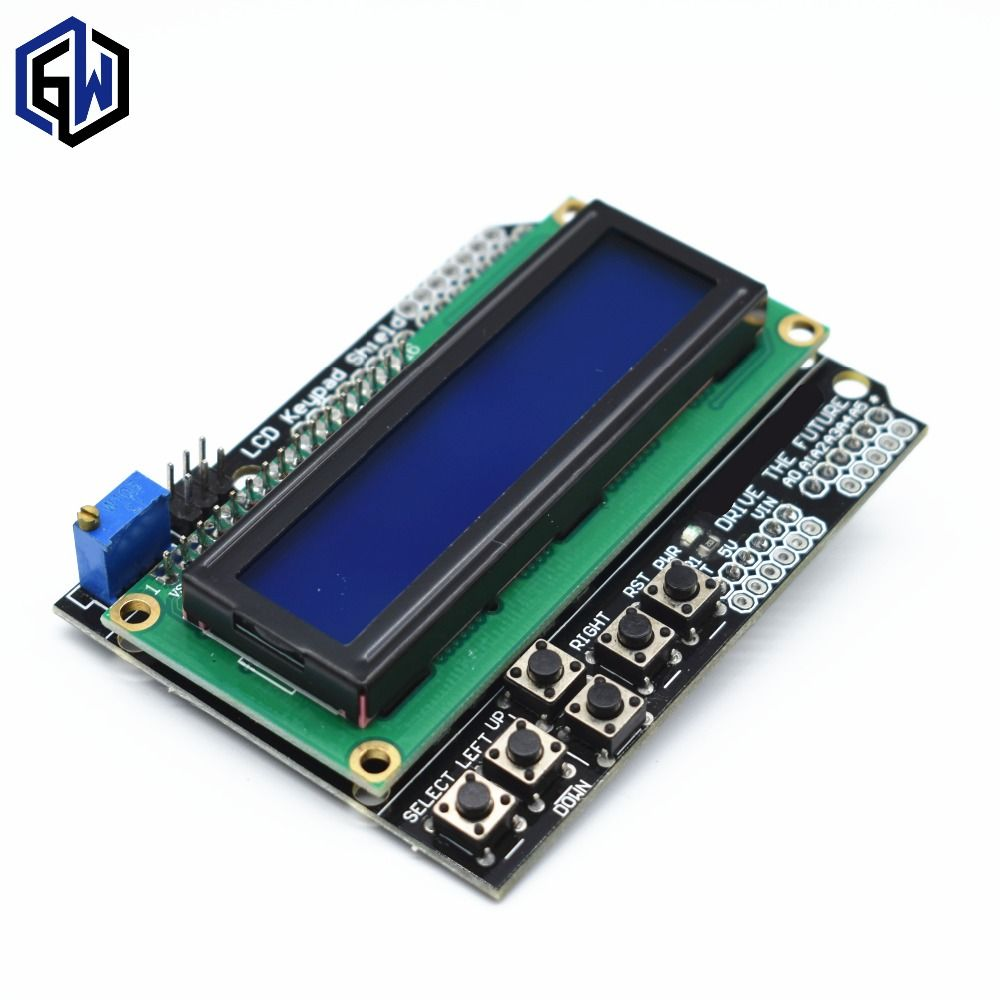 LCD Tastatur Schild LCD1602 LCD 1602 Modul Display blau bildschirm