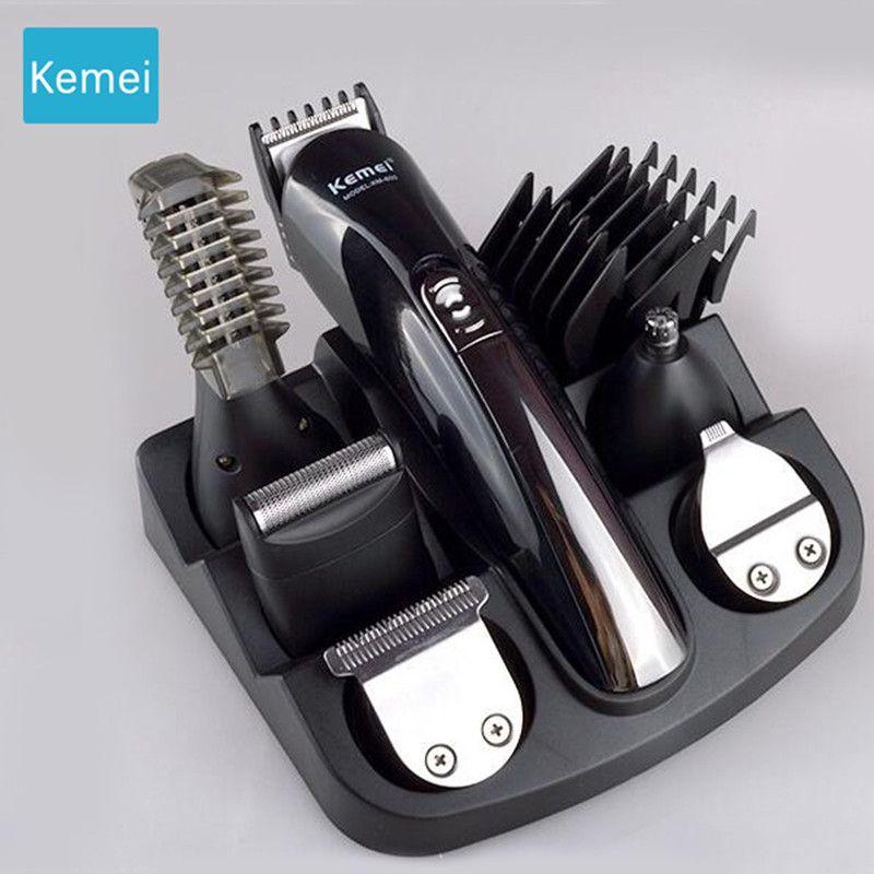 Kemei 6 in 1 trimmer beard trimer beard Hair clipper Machine cut hair Trimer Clipper hair cutting machine Electric Trimmer 5