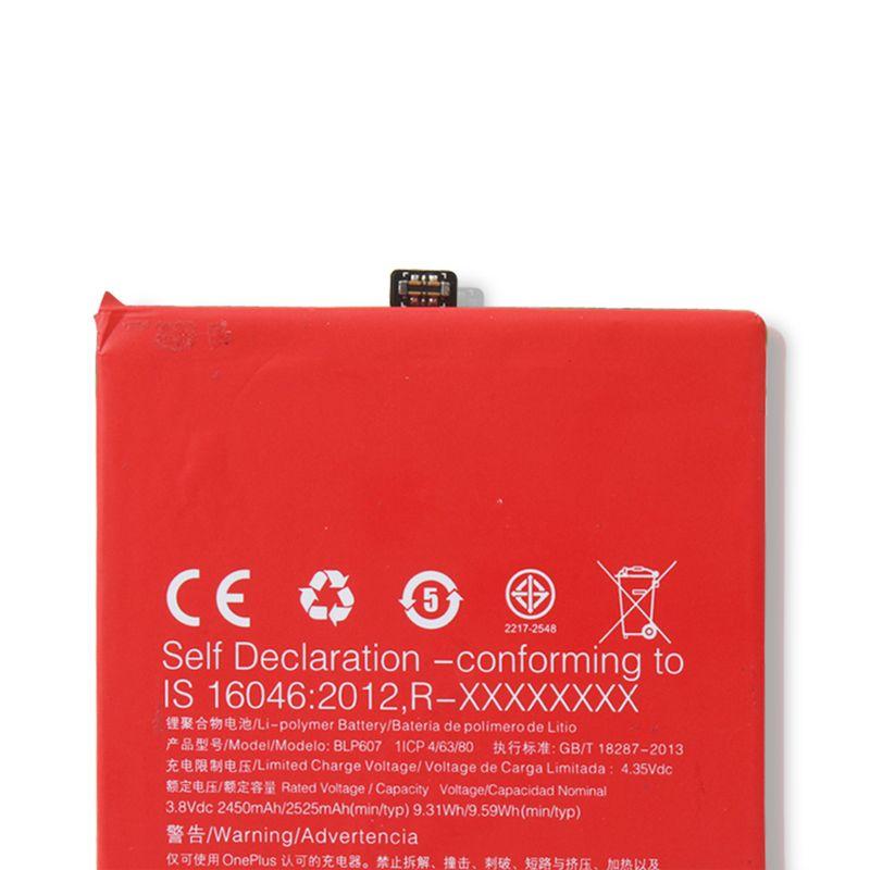100% Original Backup Für Oneplus X BLP607 Batterie Für Oneplus X BLP607 Smart Handy + + Aufspürennr