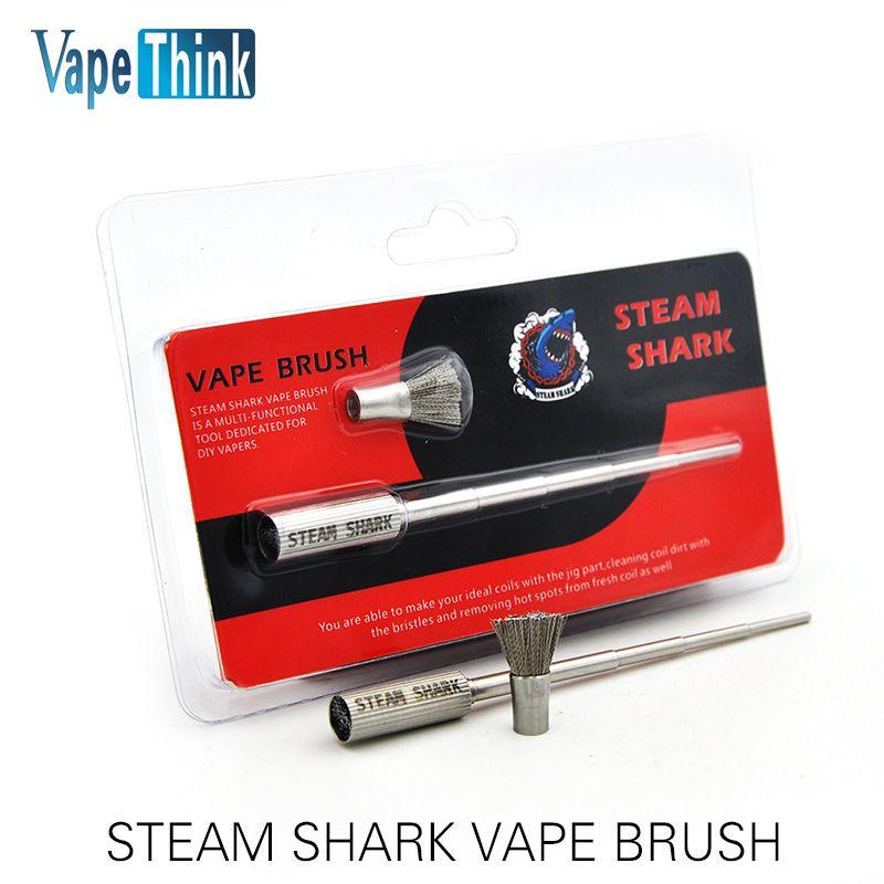 Original Vapethink Steam Shark Multi-functional Vape Brush for RDA Atomizer Vaporizer Coils with High Quality Vs Coil Master