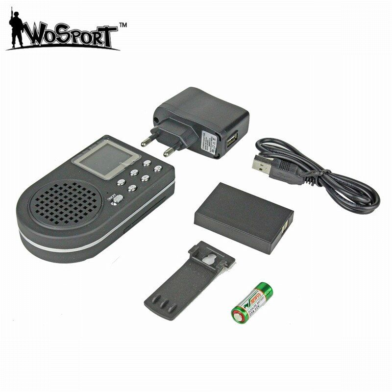 Tactical Hunting Decoy NO Remote Control Electronics LCD CP360 MP3 Sound Player 1800MAH Digital Hunting Equipment