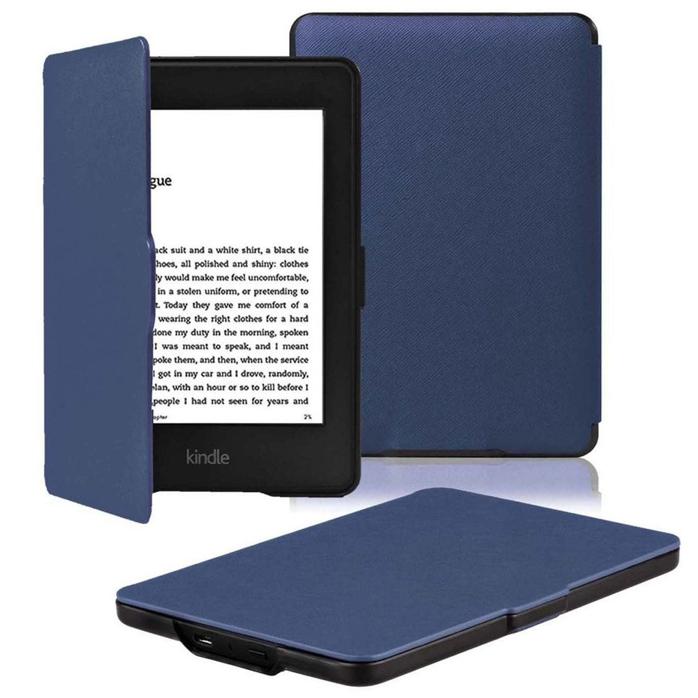 Zimoon Slim Fashion Cover For Amazon Kindle Paperwhite 1/2/3 Ereader Leather Case 6' For Kindle Paperwhite With Screen Protector
