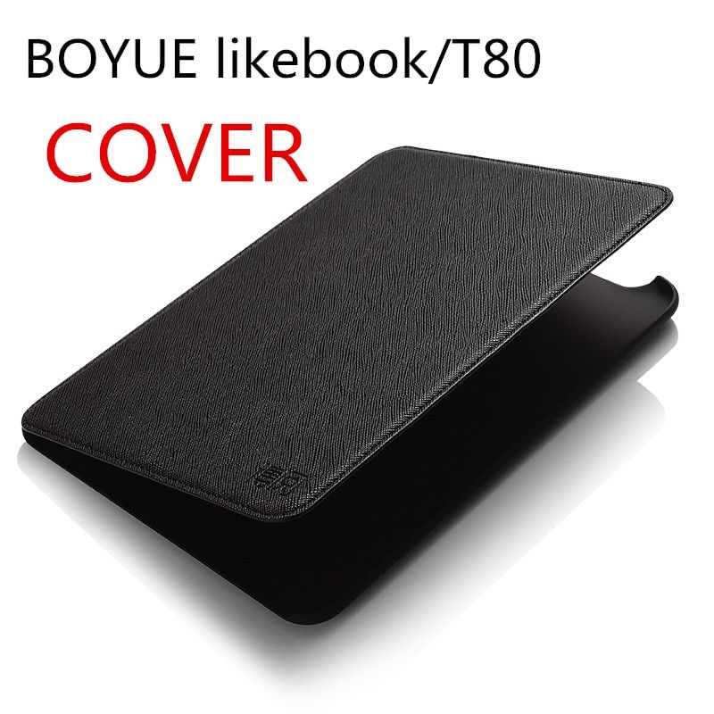 Case of boyue likebook/T80 ebook cover for  likebook/t80 ereader free shipping