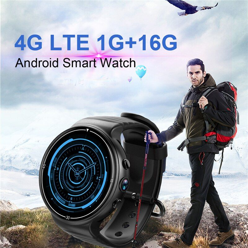 OGEDA smart watch I8 Android 7.0 1,39 Farbe Bildschirm 4g LTE SIM karte smartwatch GPS kamera herz rate WIFI Bluetooth smart watch
